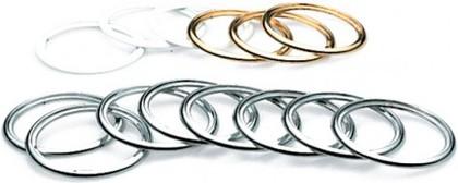 Декоративное кольцо, хром Colombo MELO B1200