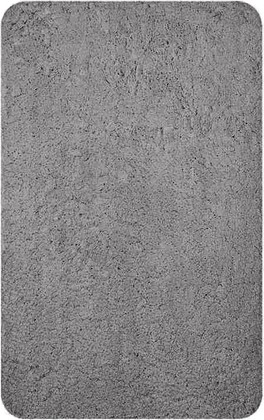Коврик для ванной комнаты 50x80см полиэстер серый Spirella SILVER 4007060