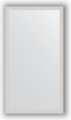 Зеркало в багетной раме 71x131см чеканка белая 46мм Evoform BY 3290