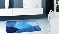 Коврик для туалета 55x55см синий Grund OLYMPUS WC 735.05.116