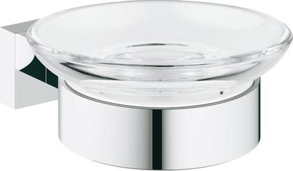 Мыльница стеклянная, прозрачный Grohe Essentials Cube 40754001