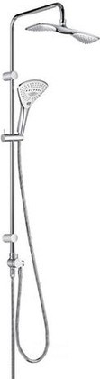 Душевой гарнитур с верхним и ручным душем, хром Kludi FIZZ 6709105-00