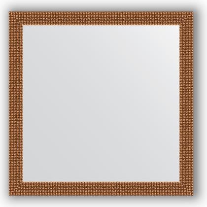 Зеркало в багетной раме 61x61см мозаика медь 46мм Evoform BY 3131