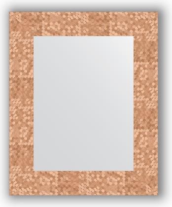 Зеркало в багетной раме 43x53см соты медь 70мм Evoform BY 3018