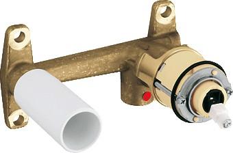 Скрытая часть для однорычажного смесителя на 2 отверстия для раковины, DN 15 Grohe 33769000