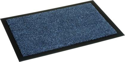 Коврик придверный 60x90см для помещения синий, полиамид Golze ZIRCON 630-55-20