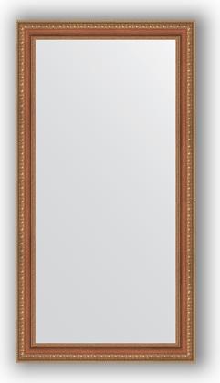 Зеркало в багетной раме 55x105см бронзовые бусы на дереве 60мм Evoform BY 3075