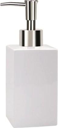 Ёмкость для жидкого мыла белая Spirella QUADRO 1000153