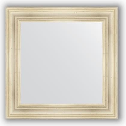Зеркало в багетной раме 72x72см травленое серебро 99мм Evoform BY 3156