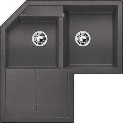 Кухонная мойка крыло слева, гранит, тёмная скала Blanco METRA 9 Е 518888