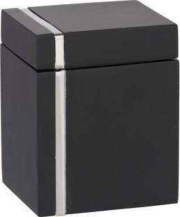 Контейнер универсальный чёрный с крышкой Wenko NOBLE 20465100