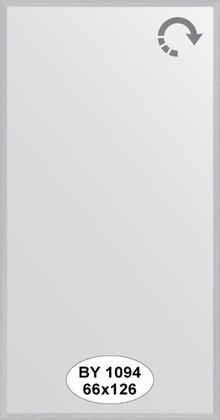Зеркало 66x126см в багетной раме сталь Evoform BY 1094