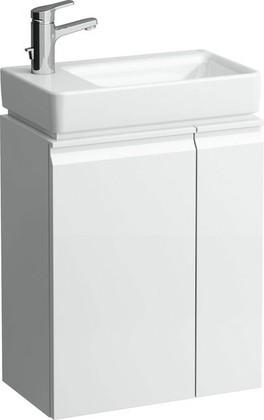 Шкафчик под раковину левый с полками 47см, белый Laufen PRO 4.8300.1.095.463.1