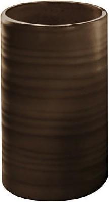 Стакан для зубных щёток керамический коричневый Kleine Wolke SAHARA 5046301852