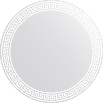 Зеркало для ванной с орнаментом диаметр 60см FBS CZ 0704