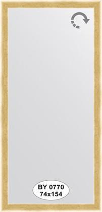 Зеркало 74x154см в багетной раме травлёное золото Evoform BY 0770