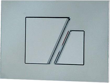 Клавиша смыва для инсталляции для унитаза, хром глянцевый Sanit 16.707.81..0000