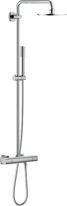 Душевая система с термостатом для настенного монтажа, хром Grohe RAINSHOWER System 210 27418000