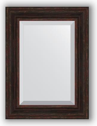 Зеркало с фацетом в багетной раме 59x79см темный прованс 99мм Evoform BY 3395