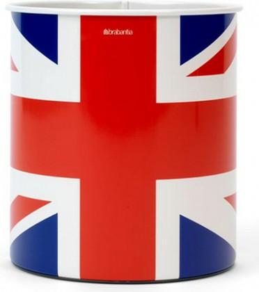 Корзина для бумаг 7л с рисунком Union Jack Brabantia 479786