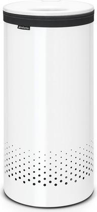 Бак для белья 35л белый с пластиковой крышкой Brabantia 102462