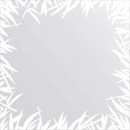 Зеркало для ванной с орнаментом 60x60см FBS CZ 0746
