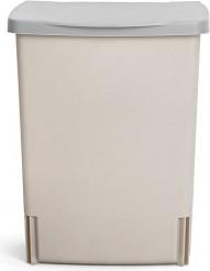 Ведро для мусора квадратное встраиваемое 10л серое Brabantia 482281