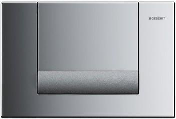 Смывная металлическая клавиша для одинарного смыва, хром Geberit Tango 115.760.KA.1