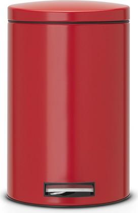 Ведро для мусора 12л с педалью, MotionControl, красное Brabantia 483721