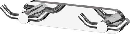 Планка с двумя двойными крючками хром ArtWelle HAR 008