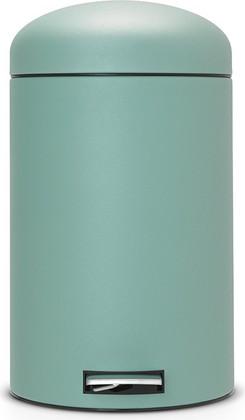 Ведро для мусора 20л с педалью, MotionControl, зелёное (мята) Brabantia RETRO 482526