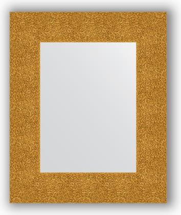 Зеркало в багетной раме 46x56см чеканка золотая 90мм Evoform BY 3022
