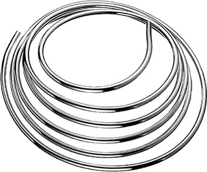 Труба медная хромированная Ø10мм, 5м Schell 487410699