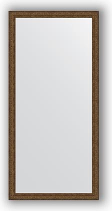Зеркало в багетной раме 74x154см виньетка состаренная бронза 56мм Evoform BY 3329