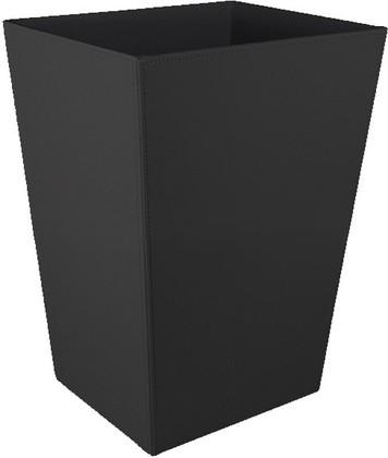 Ведро для бумаг, экокожа чёрная Colombo Black&White B9202.EPN