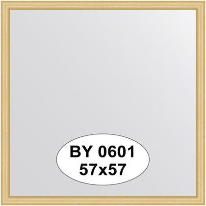 Зеркало 57x57см в багетной раме сосна Evoform BY 0601