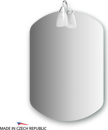 Зеркало со светильником 50х70см Ellux CLA-A1 0031