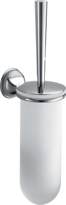 Туалетный ёршик стекло/хром, хром Colombo MELO B1207