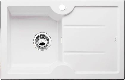 Кухонная мойка чаша слева, крыло справа, керамика, белый матовый Blanco IDESSA 45 S 514487