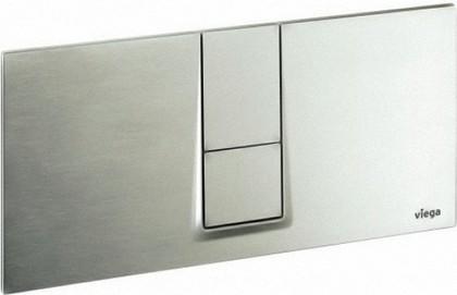 Кнопка смыва для унитаза пластиковая, матовый хром Viega Visign for Style 14 654719