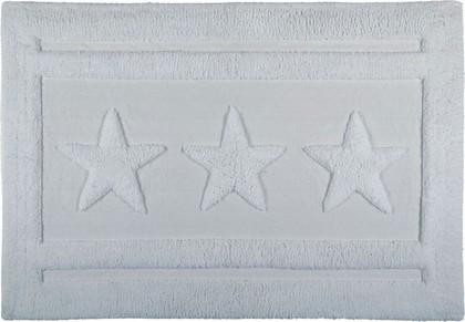 Коврик для ванной комнаты хлопковый 60x90см белый Spirella EMILY STAR 1017654