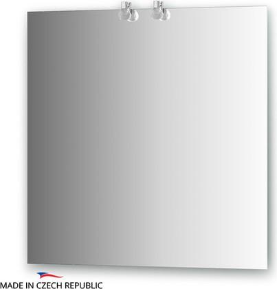 Зеркало 75х75см со светильниками Ellux CRY-B2 0210