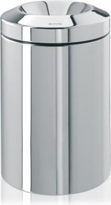Несгораемая корзина для бумаг 15л сталь полированная Brabantia 378881