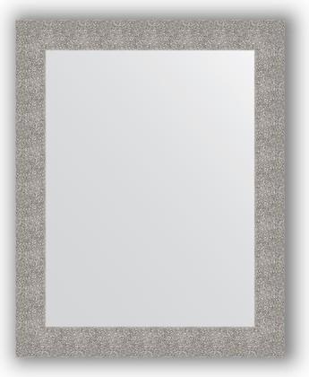 Зеркало в багетной раме 80x100см чеканка серебряная 90мм Evoform BY 3279