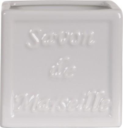 Стакан фарфоровый белый Spirella SAVON DE MARSEILLE 4006080