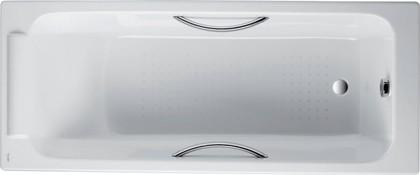 Ванна чугунная с отверстиями для ручек 150x70см, Antislip Jacob Delafon PARALLEL E2949-00