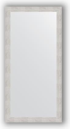 Зеркало в багетной раме 76x156см серебряный дождь 70мм Evoform BY 3336