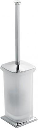Ёрш для туалета напольный со стеклянной колбой и деталями, хром Colombo PORTOFINO B3206