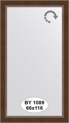 Зеркало 66x116см в багетной раме орех Evoform BY 1089