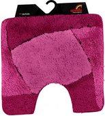 Коврик для туалета 55x55см малиновый Spirella FOCUS 1014199